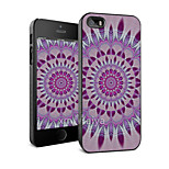 Colored Drawing Fashion Style Protection Shell for iPhone5/5s -Maiya-M11188