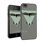 Colored Drawing Fashion Style Protection Shell for iPhone5/5s -Maiya-M11247