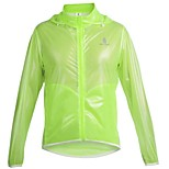 WolfBike Cycling Bicyling Windproof Hooded Light Waterproof Coat Bike MTB Thin Raincoat Top