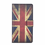 Britain Flag Pattern PU Leather Full Body Case with Stand and Card Slot for Huawei Honor 4C