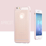 Blowhole Color TPU + PC Material Phone Case For iPhone 6(Assorted Colors)