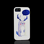 Cat Pattern Hard Cover for iPhone 5 Case for iPhone 5 S