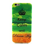 Keep Calm Painting Soft TPU Case for iPhone 6/6S