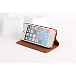 PU Leather Wallet Case for Iphone 5 5s