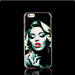 Monroe Pattern Cover for iPhone 6 Plus Case