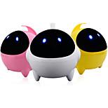 astronaute de bande dessinée usb 2.0 stéréo subwoofer portable mains-libres / cadeau mini haut-parleur de super pour les enfants