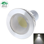 Zweihnder GU10 5W 450LM 5500-6000K 1xCOB LED Cool White Spotlight (new products,AC 220-240V,1Pcs)