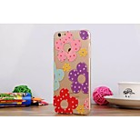 Painting Diamond Look/Graphic/Special Design TPU Back Cover for iPhone 6