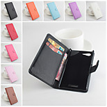 Protective PU Leather Magnetic Vertical Flip Case for Sony Xperia E3(Assorted Colors)
