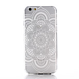 Mandala Printing Pattern TPU Material Soft Phone Case for iPhone 6