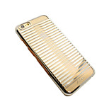 Iphone 6/6S ultra-slim gold/silver plated PC cover
