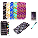 Stereoscopic Rhombus Lattice Cell Phones Case Cover Case For Iphone 6 4.7
