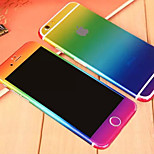 Full Body Side+Top+Back+Button Fading Color Skin Sticker for iPhone 6 (Assorted Colors)