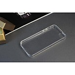 Phone Cases  for iPhone 4 and 4S for Apple Phone 0.3 mm TPU Transparent Protect Skin Rubber Phone Cover with Dust Plug