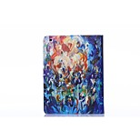 Oil Painting PU Leather Full Body TPU Case with Card Holder for Ipad 2/ Ipad 3/Ipad 4