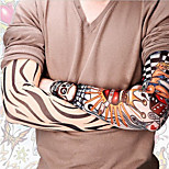 Punk Fake Crown Temporary Tattoos Sleeves Arm Stockings(Assorted Styles)(1 pc)