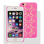 High-Grade Fashion Laser Three-Dimensional Carving PC Materiai for iPhone 6 (Assorted Colors)