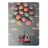 New Flower PU Leather Case With Card Slots For Apple iPad 6 Air 2 Case Folio Stand Protector Skin For iPad Air 2 Cover