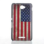 American Flag Pattern Painted PC Material Phone Case for Sony Xperia E4