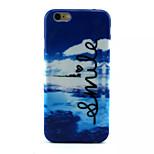 Blue Sky Pattern TPU Phone Case For iPhone 6