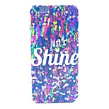 Shin Glitter Pattern Hard Case Cover for iPhone 6 Plus