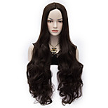 80cm U Party Curly Cosplay Party Wig Multi colors available Black