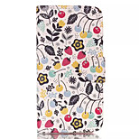Cherry Strawberry Pattern Retro Quality PU Material Case for iPhone 6