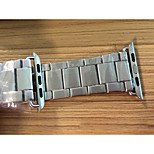 Stainless Steel Band for Apple Watch WatchBand Bracelet Strap for Apple Watch Sport Edition Silver