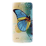 Blue Butterfly Pattern TPU Material  Phone Case for LG G3