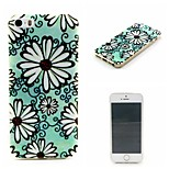 Daisy Painting Soft TPU Falling Proof Case for iPhone 5/5S