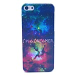 Dreamer Diamond Star Space Night Pattern Hard Cover Case for iPhone 5C