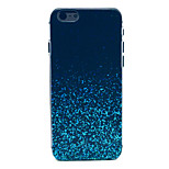 Little Stars  Pattern Transparent Frosted PC Back Cover  For iPhone 6