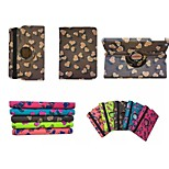360 Degree Rotation Love Pattern PU Leather Case with Stand for iPad 2/3/4(Assorted Colors)