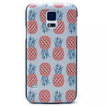 Pineapple Pattern  PC Phone Case  for Samsung Galaxy S5 I9600