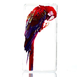 Parrot Pattern Painted  TPU Material Phone Case for Sony Z3