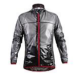 WOSAWE New Waterproof Reflective Long Sleeve Cycling Raincoat