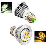 2 pcs Ding Yao E14 5W 12X SMD 5730 400-500LM 2800-3500/6000-6500K Warm White/Cool White Spot Lights AC 220-240V