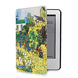 Garden Pattern PU Leather Case with Magnetic Buckle for Amazon Kindle (2014)  (Assorted Colors)