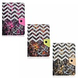Wave and Anchor Pattern Magnetic Flip Stand Universal PU Leather Case for 7'' Tablet PC (Assorted Color)