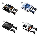 소니 플레이 스테이션 PS3 슬림 시스템에 대한 디자이너의 피부&원격 컨트롤러