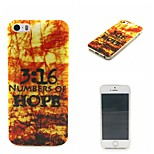 HOPE  Pattern TPU Phone Case For iPhone 5/5S