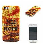 coco fun® bosco rosso acero modello tpu IMD caso della copertura posteriore per iPhone 5 / 5s