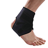 Ollas Outdoor Fitness Unisex One-piece Black Opening Spongy Mould Proof Antibacterial Ankle Protector Free Size S9604