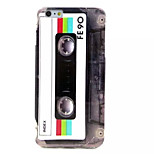 Magnetic tape Pattern TPU Soft Case for iPhone 6S/6 Plus