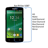 10PCS High Quality HD Transparent Screen Protector Films For Philips V387