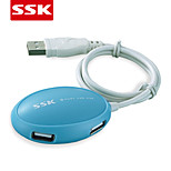 SSK® USB 2.0 SHU017 4-Port High-speed USB HUB USB 2.0 USB HUB