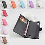 Protective PU Leather Magnetic Vertical Flip Case for OPPO R7(Assorted Colors)