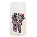 Elephant Pattern TPU Material  Phone Case for LG G3 MINI