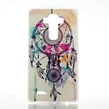Campanula Pattern Transparent Frosted PC Material  Phone Case for LG G4