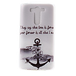 Anchors Pattern TPU Material  Phone Case for LG G3